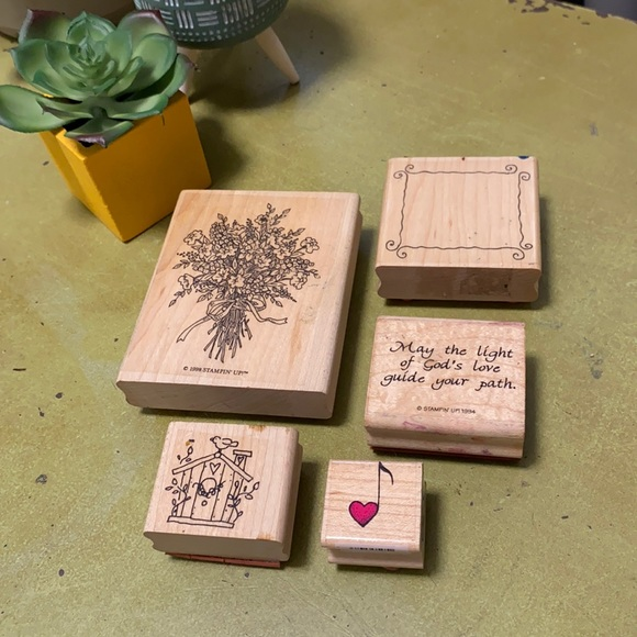 Lot of stamps for crafts